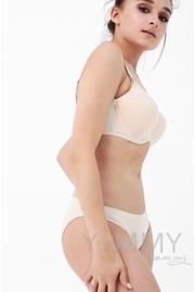 Бюстгальтер для кормления и беременных Angelika на косточках, бежевый