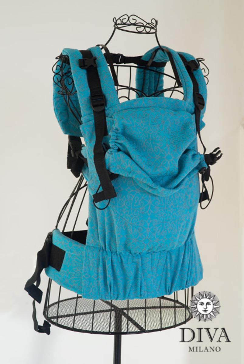 Эрго-рюкзак для новорожденных Diva Basico Lago One!