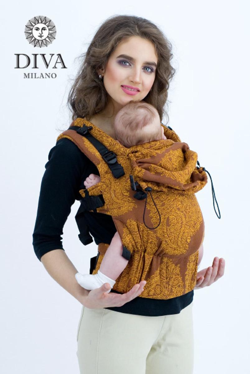 Эрго-рюкзак для новорожденных Diva Essenza Terracotta One!
