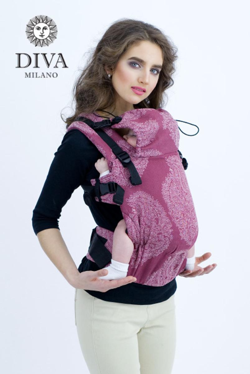 Эрго-рюкзак для новорожденных Diva Essenza Berry Linen One!