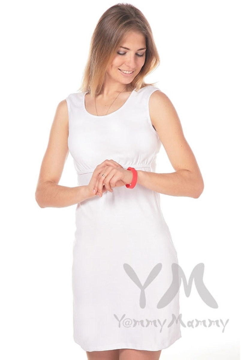 Ночная сорочка белая