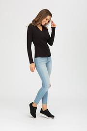 """Блуза """"Сюрприз"""", черная"""