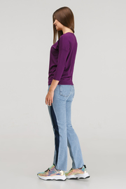 """Блуза для беременных и кормящих """"Платина"""", фиолетовый"""