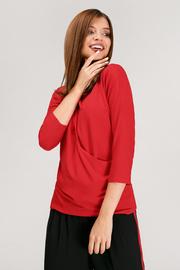 """Блуза для беременных и кормящих """"Платина"""", красная"""
