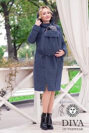 Пальто зимнее Diva Outerwear Notte без вставок