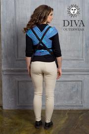 Слингонакидка из шерсти Diva Outerwear Antracite