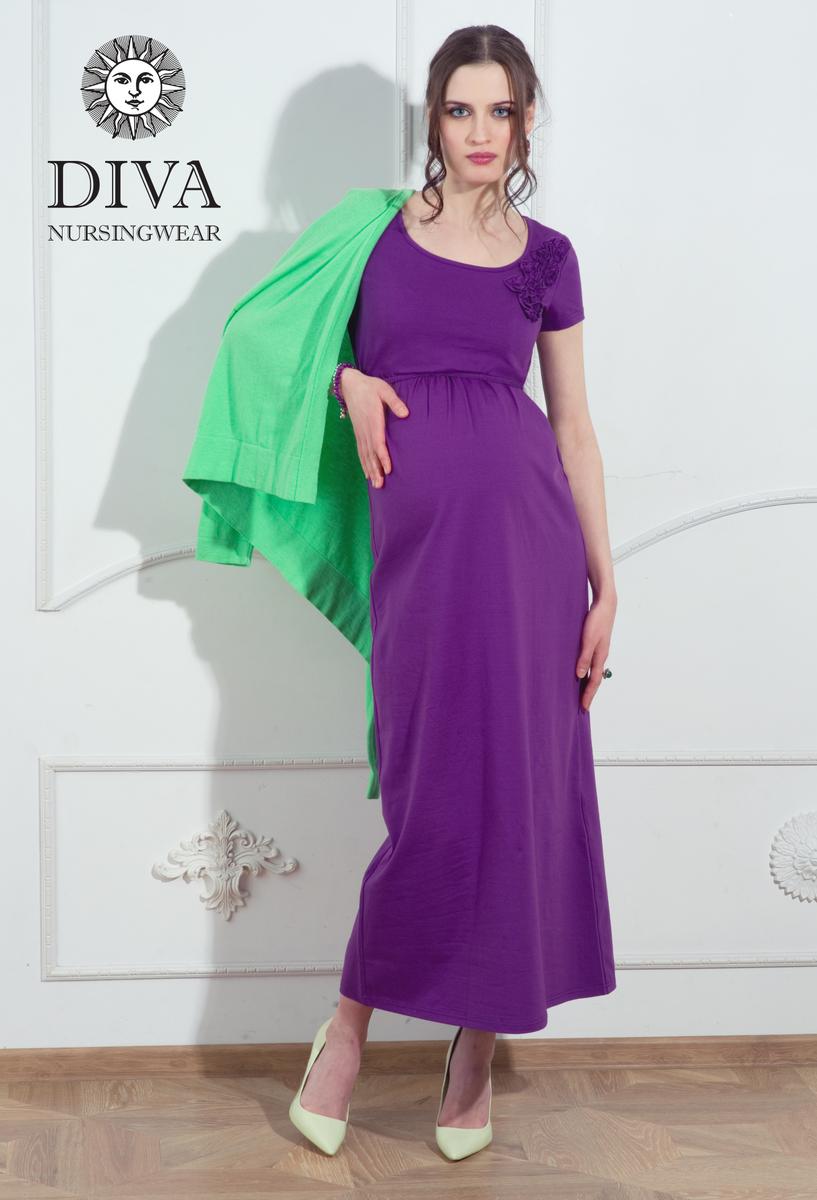 Платье для кормящих мам и беременных Diva Dalia, цвет Viola