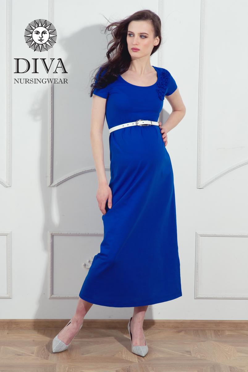 Платье для беременных и кормящих Diva Dalia, цвет Azzurro