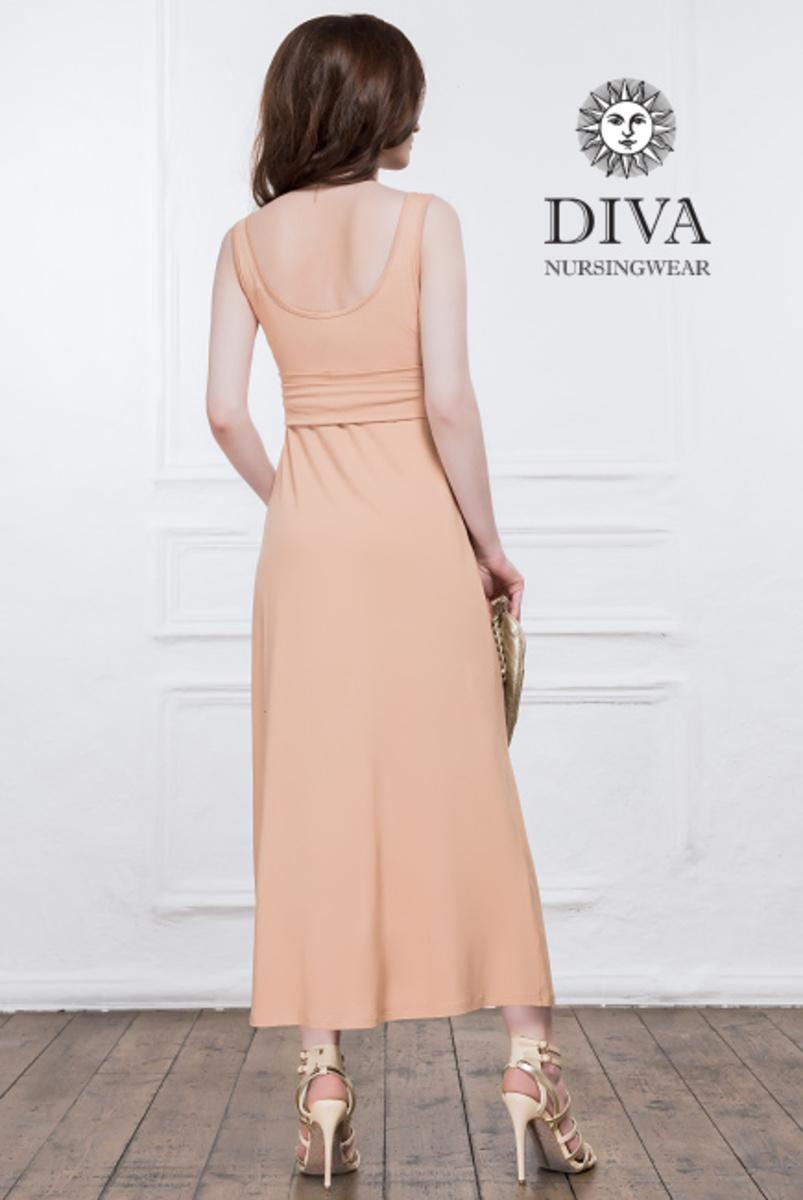 Сарафан для беременных и кормящих Diva Nursingwear - Alba Maxi, Rose