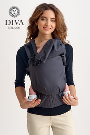Эрго рюкзак Diva Canvas One! Antracite