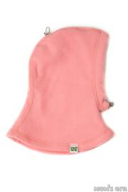 Шлем детский флисовый, розовый