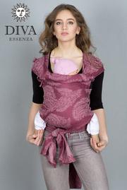 Май-слинг Diva Essenza, Berry Linen со льном