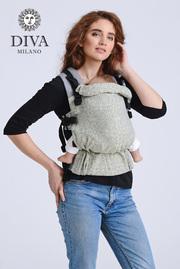 Эрго-рюкзак Diva Basico Damasco Simple One!