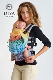 Эрго-рюкзак для новорожденных Diva Essenza Mosaico Simple One!