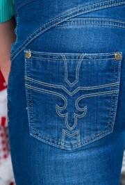 Джинсы для беременных Uniostar, синий (14013)
