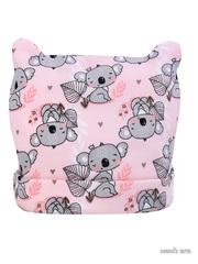 Шапка детская Koala, св.розовый, 0-6 мес.
