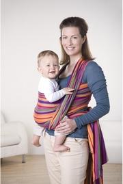 Слинг-шарф Amazonas (двойное диагональное плетение), Lollipop