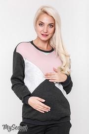 Свитшот для беременных и кормящих Cat Warm, антрацит