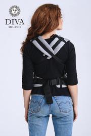 Эрго-рюкзак для новорожденных Diva Basico Luna Simple One!