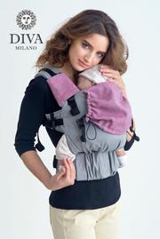 Накладки для сосания к эрго-рюкзаку, Diva Perla