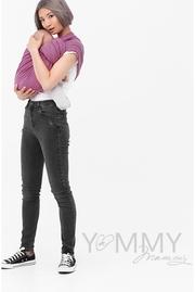 Слинг с кольцами YM, розовый/серый