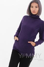 Толстовка для беременных и кормящих, фиолет (202.2.111)
