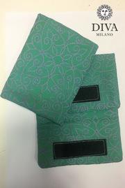 Накладки для сосания к эрго-рюкзаку, Diva Aloe