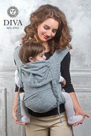 Май-слинг от 6 мес. Diva Basico Argento Toddler