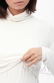 Бадлон для беременных и кормящих Гольф, экрю (208.2.89)