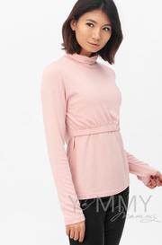 Бадлон для беременных и кормящих Гольф, жемчужно-розовый (208.2.109)