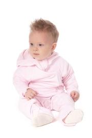 Флисовая поддева (флисовый комбинезон), светло-розовый