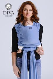 Трикотажный слинг для новорожденных Diva Stretchy, Cielo