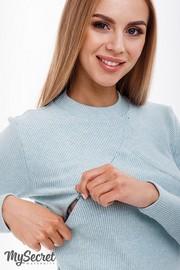Лонгслив для беременных и кормящих Stefania Warm, мята