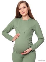 Костюм для беременных и кормящих Нора, фисташка