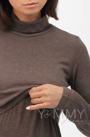 Бадлон для беременных и кормящих Гольф, мускат/меланж (208.2.104)
