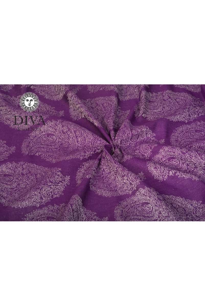 Слинг-шарф Diva Essenza, Viola с бамбуком