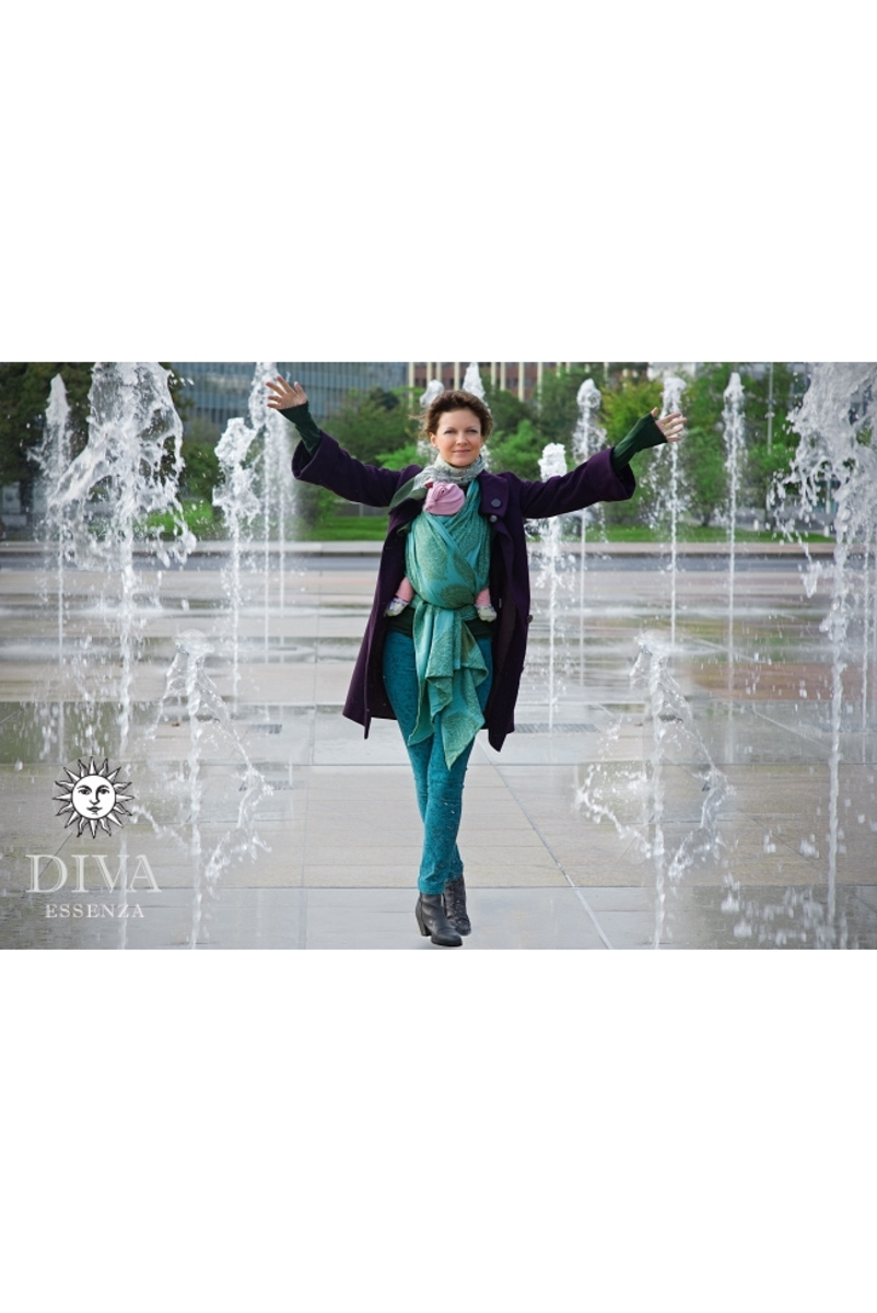Слинг-шарф Diva Essenza, Menta с бамбуком