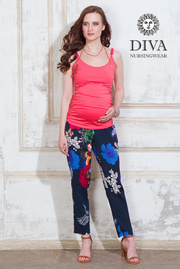 Майка для кормящих и беременных Diva Natale, цвет Corallo