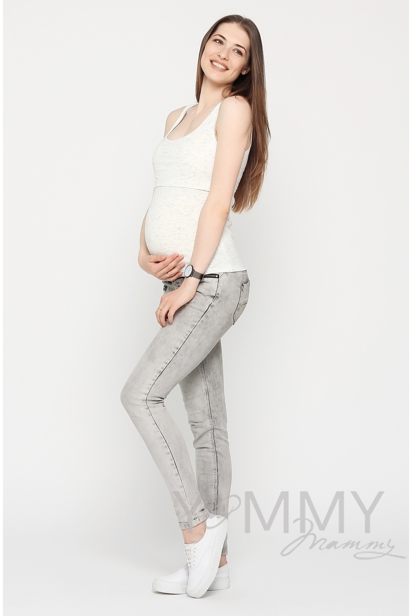 Майка для беременных и кормящих, экрю