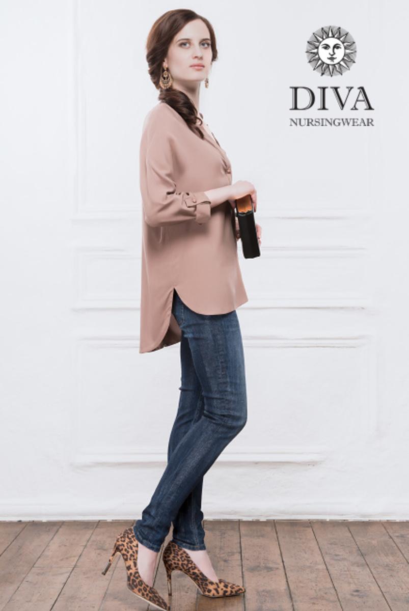 Топ для кормящих и беременных Diva Nursingwear Carla, Moka