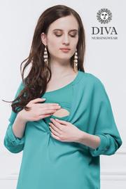 Топ для кормящих и беременных Diva Nursingwear Carla, Smeraldo