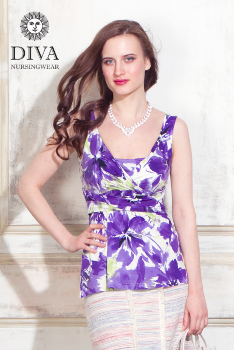 Топ для кормящих и беременных Diva Nursingwear Alba, Iris