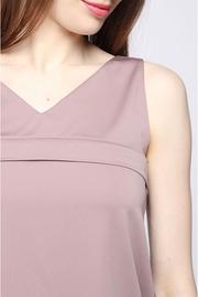 Блуза для беременных и кормящих, капучино с кружевом скидка